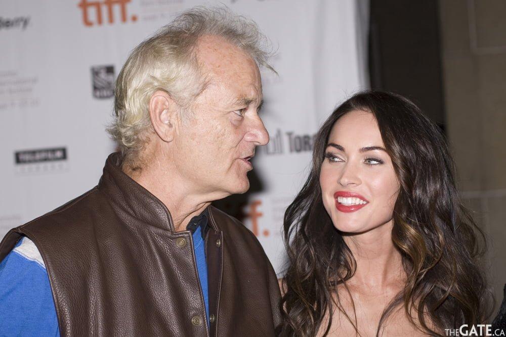 Bill Murray and Megan Fox