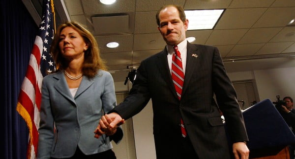 Silda Wall and Eliot Spitzer