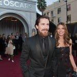 Christian Bale and Sandra Blazic