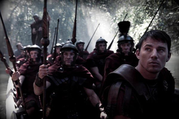 Channing Tatum stars in The Eagle with his band of merry men