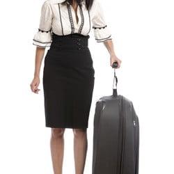 Balanzza Mini Luggage Scale in use