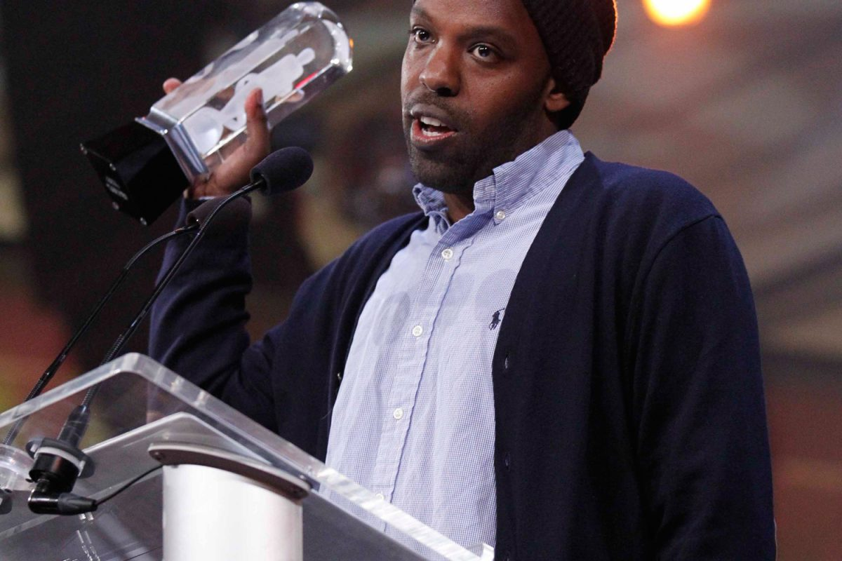 Shad at the Juno Gala & Awards dinner