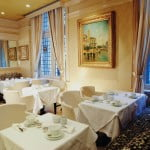 Tea room at the Windsor Arms