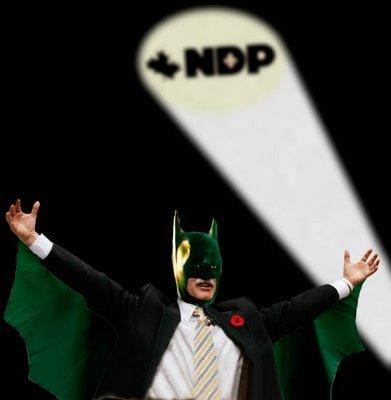 Jack Layton - Canada's Dark Knight?