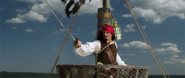 Michael Bolton as Jack Sparrow