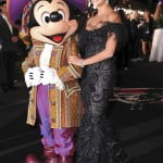 Penelope Cruz and Mickey Mouse