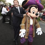 Martin Short and Mickey Mouse