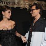 Penelope Cruz and Johnny Depp