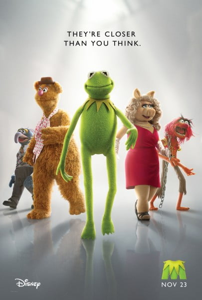The Muppets teaser poster