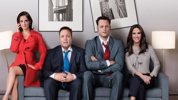 Winona Ryder, Kevin James, Vince Vaughn and Jennifer Connelly in The Dilemma