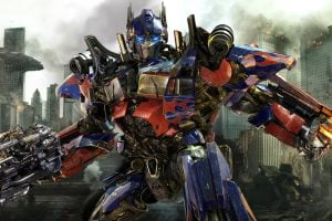Optimus Prime in Transformers: Dark of the Moon