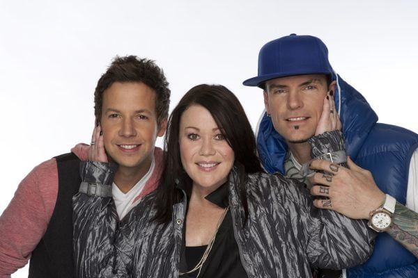 Canada Sings judges Pierre Bouvier, Jann Arden and Vanilla Ice