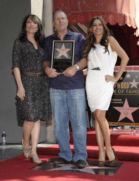 Ed O'Neill with Katey Sagal and Sofia Vergara