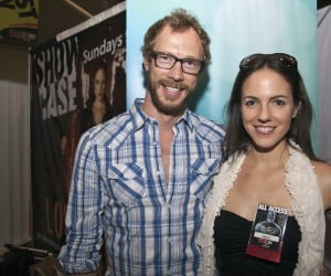 Kris Holden-Ried and Anna Silk from Lost Girl at Fan Expo 2010