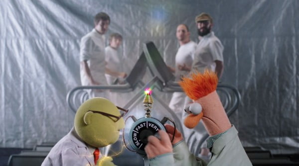 The Muppets and OK Go together at last
