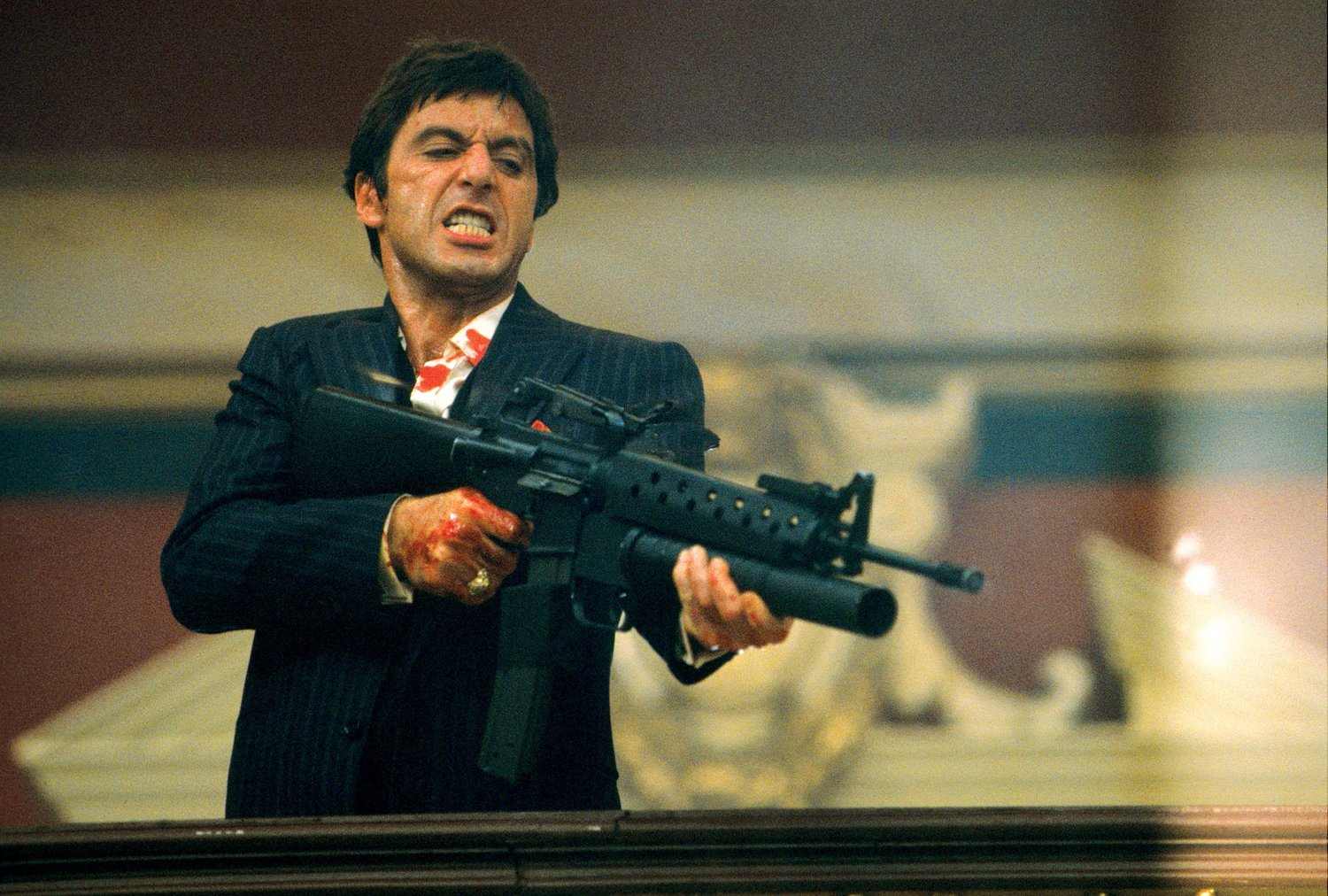 Al Pacino as Tony Montana in Scarface