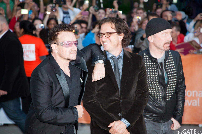 Bono, Davis Guggenheim and The Edge