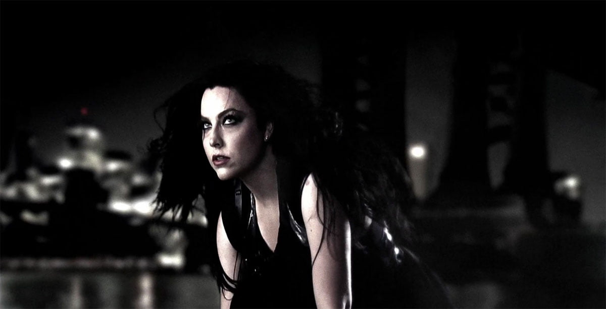 Evanescence's Amy Lee in the video for What You Want