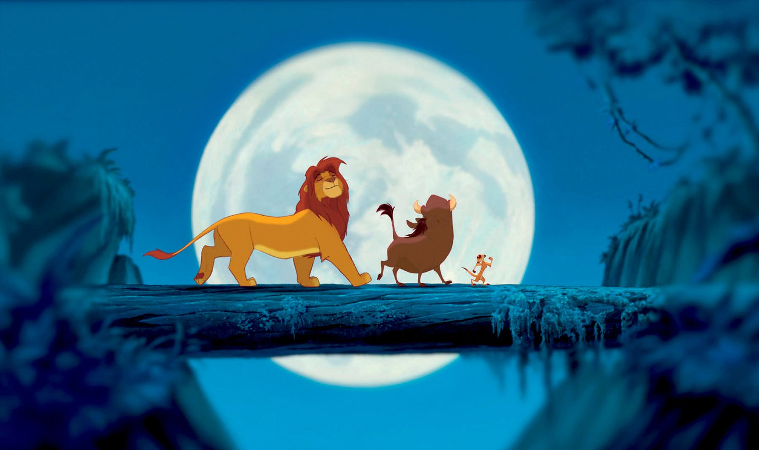 A scene from Disney's The Lion King