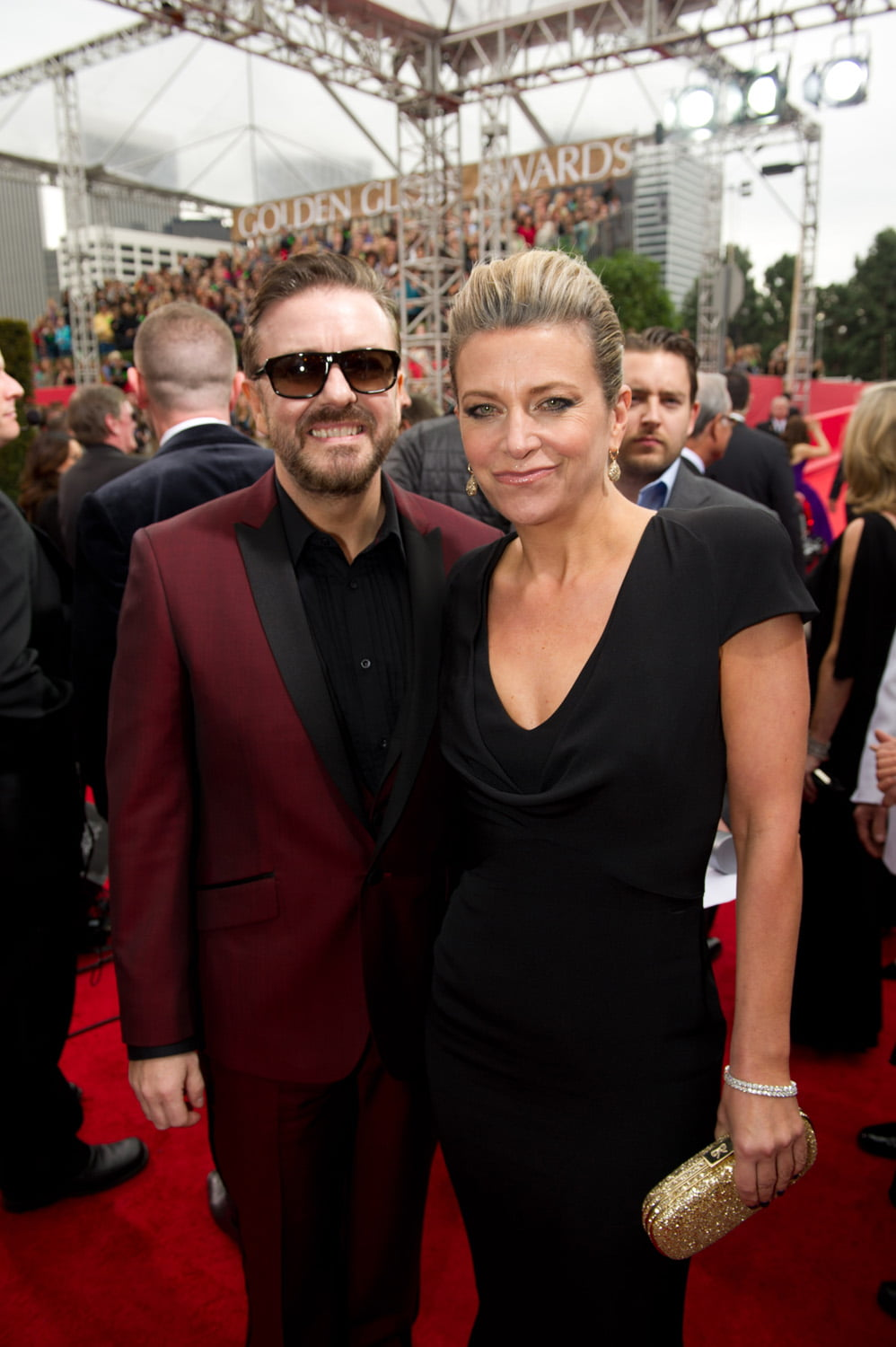Ricky Gervais And Jane Fallon The GATE