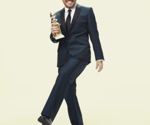 Ricky Gervais - host of the 69th Golden Globe Awards