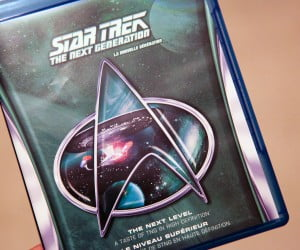 Star Trek The Next Generation Blu-ray sampler