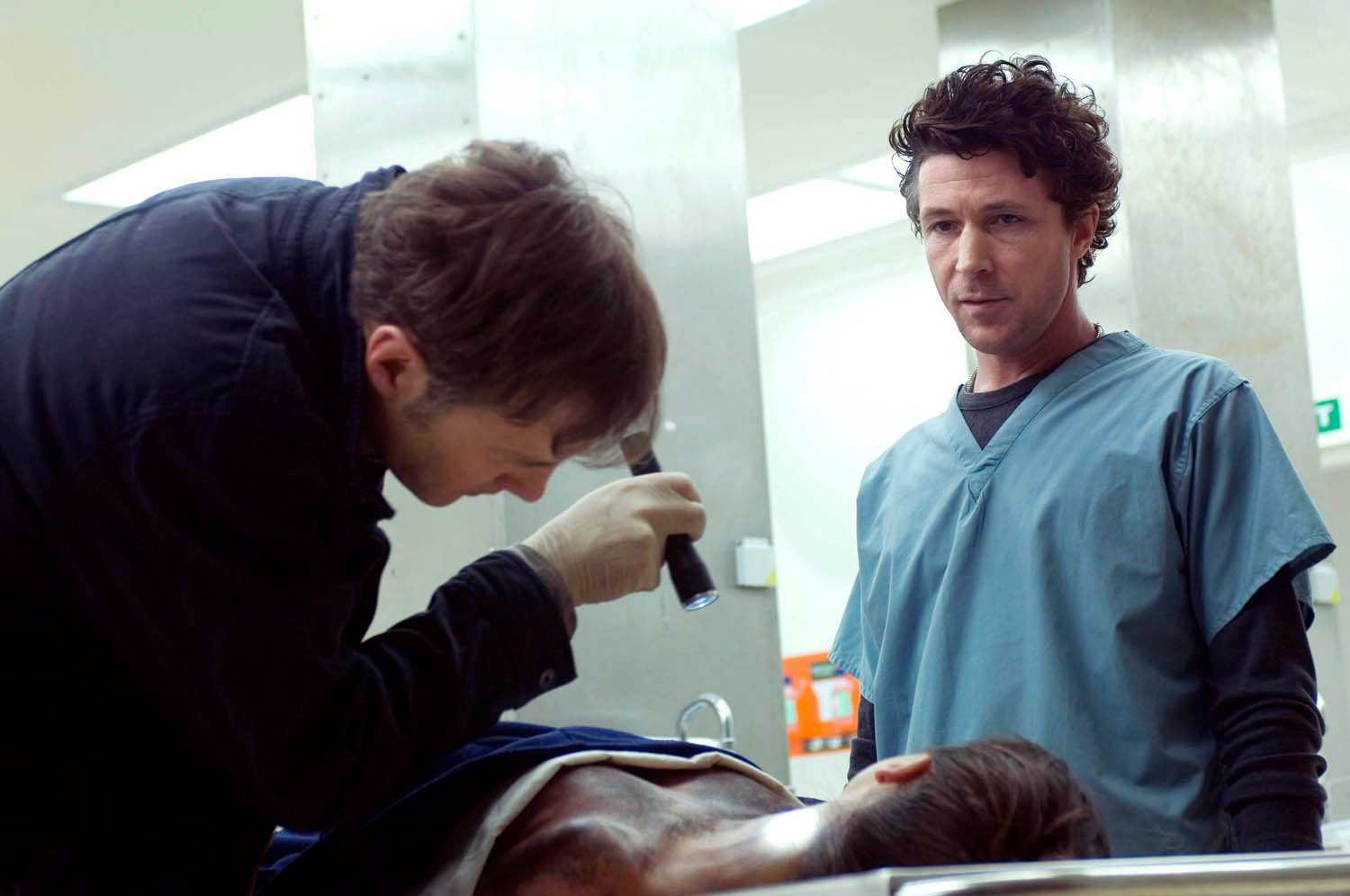 David Morrisey and Aidan Gillen in Thorne: Sleepyhead