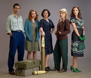 Cast of Bomb Girls