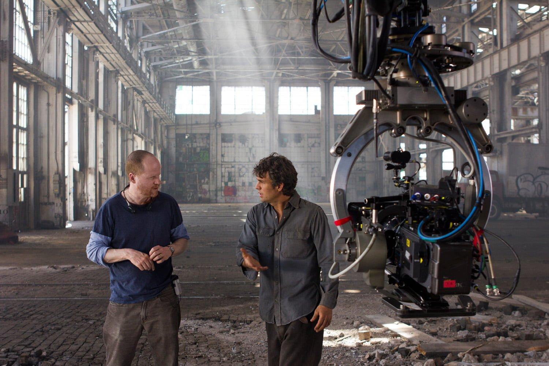 Joss Whedon and Mark Ruffalo
