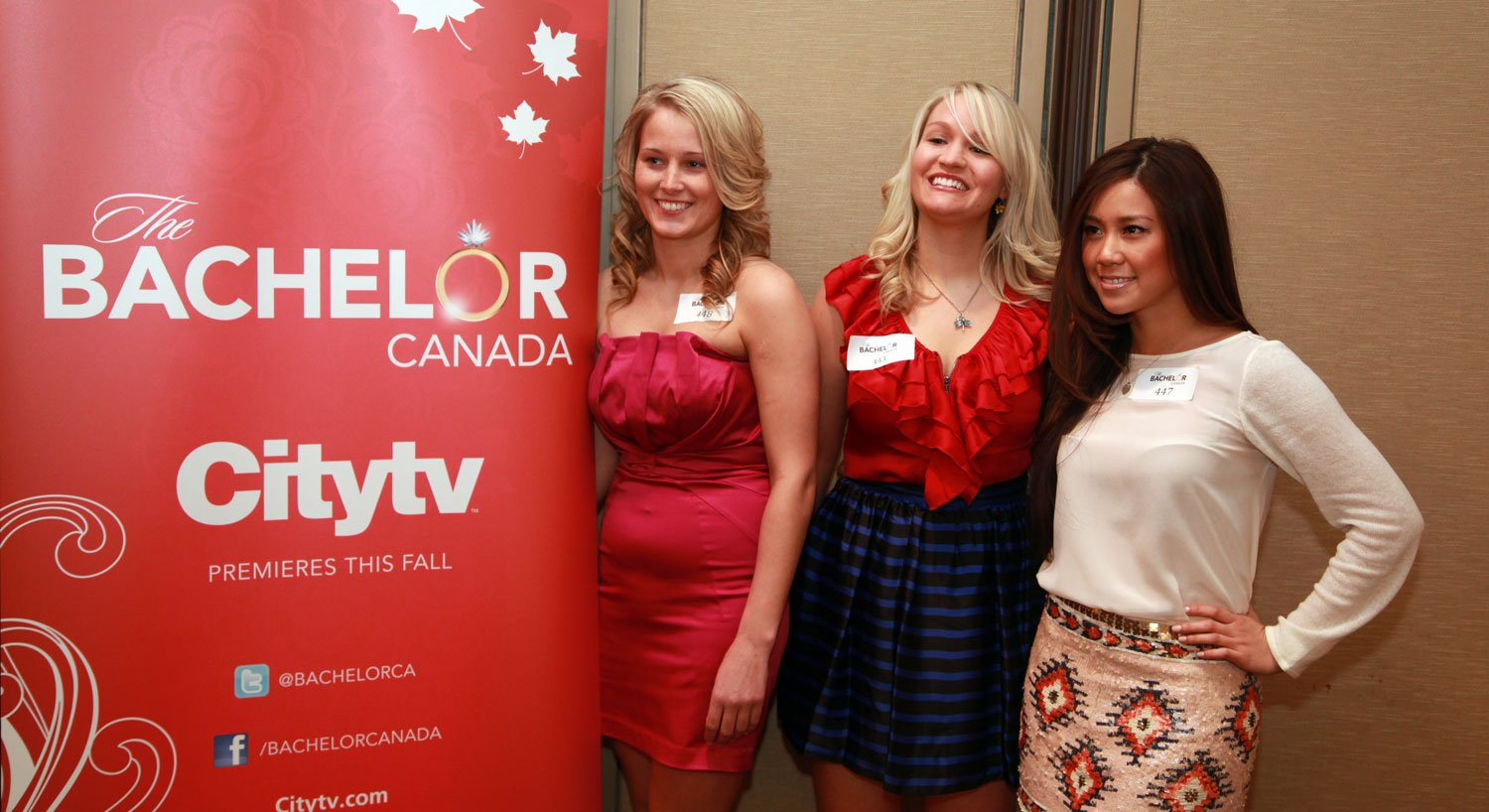 Hopeful Bachelorettes at The Bachelor Canada auditions