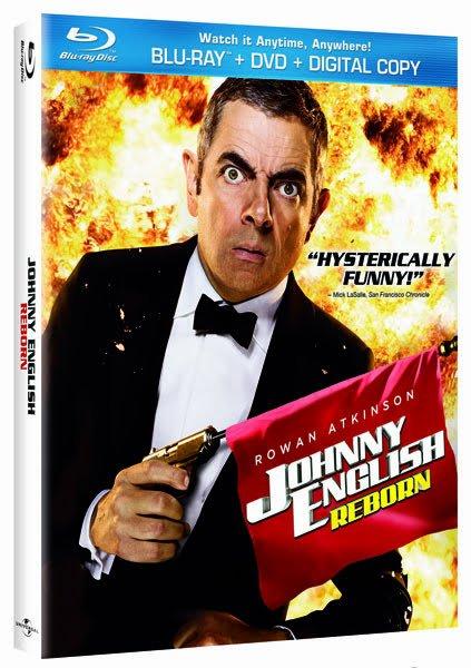 Johnny English Reborn on Blu-ray