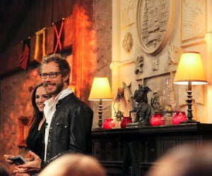 Anna Silk and Kris Holden-Ried