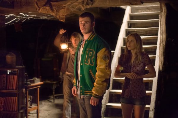 Fran Kranz, Chris Hemsworth and Anna Hutchison