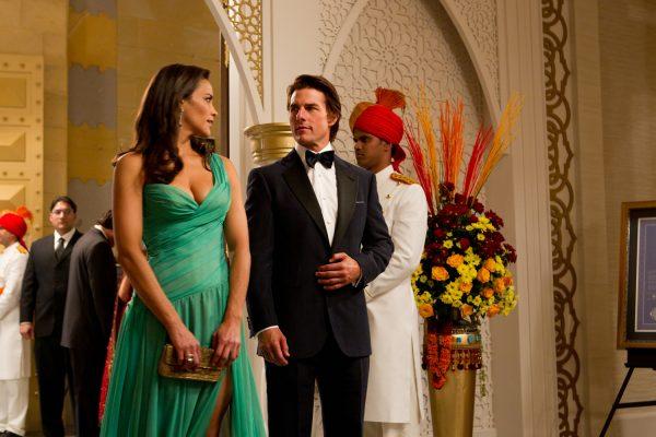 Paula Patton and Tom Cruise