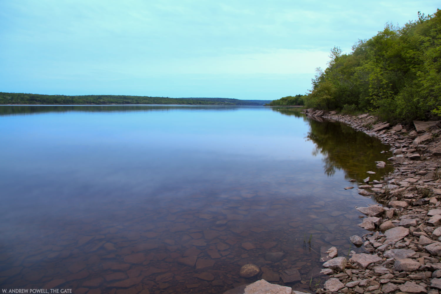 On the Lake in New Brunswick