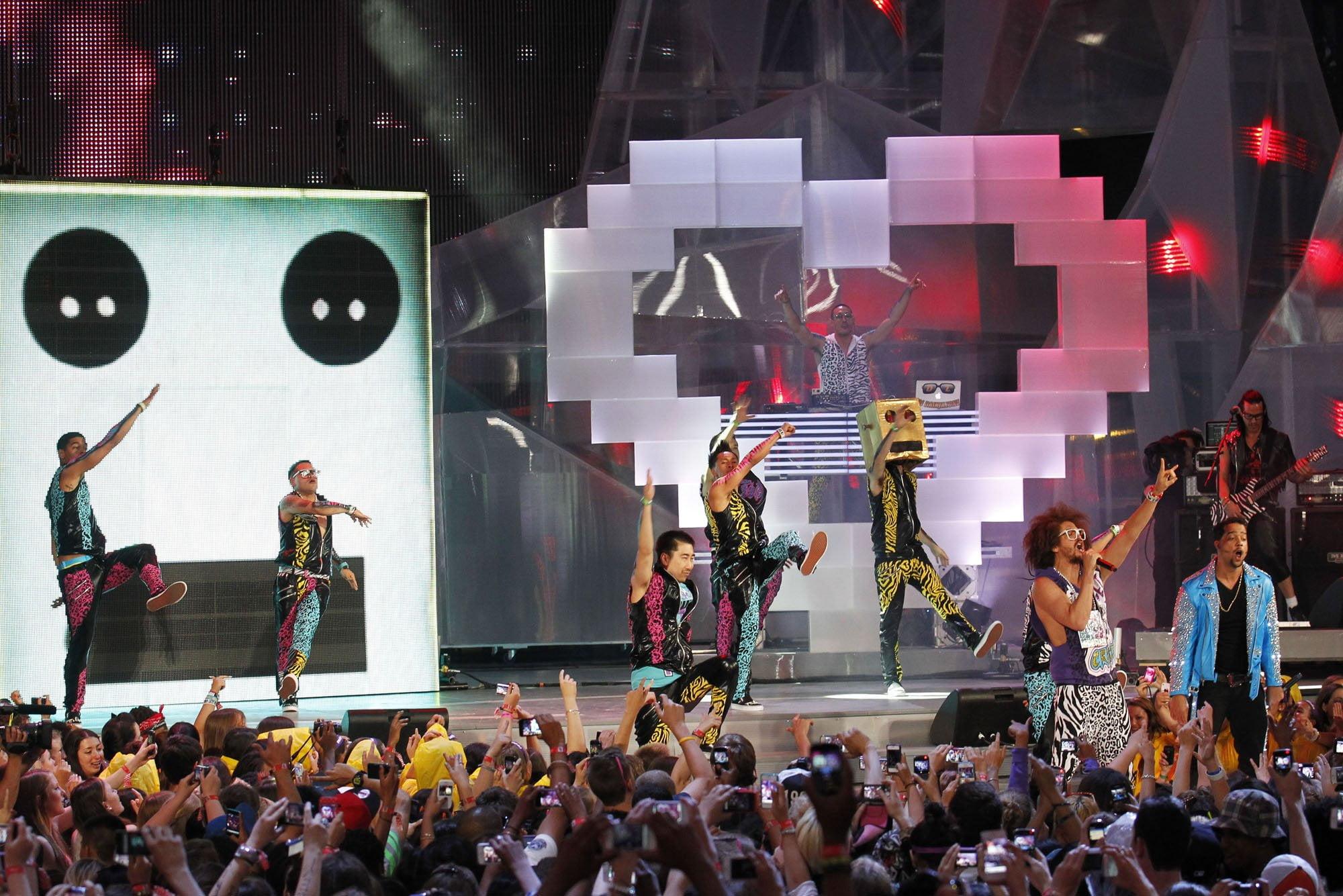 LMFAO at the 2012 MMVAs