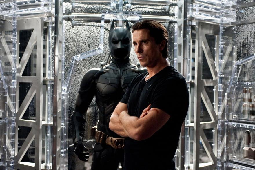 Christian Bale as Bruce Wayne