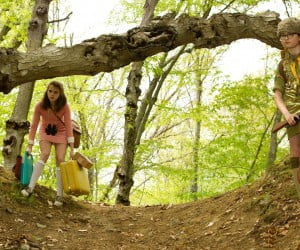 Kara Hayward and Jared Gilman in 'Moonrise Kingdom'