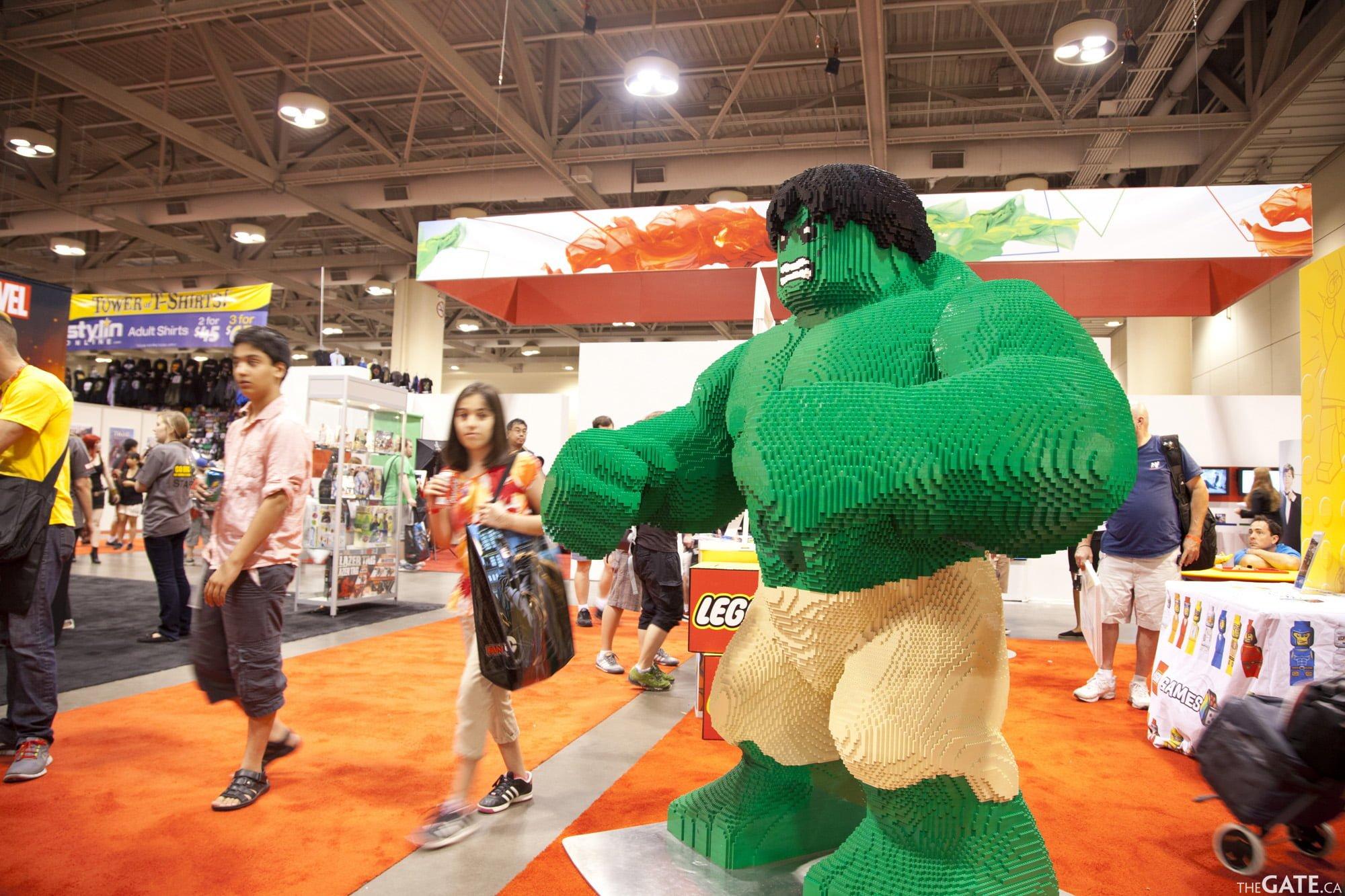 Hulk in Lego
