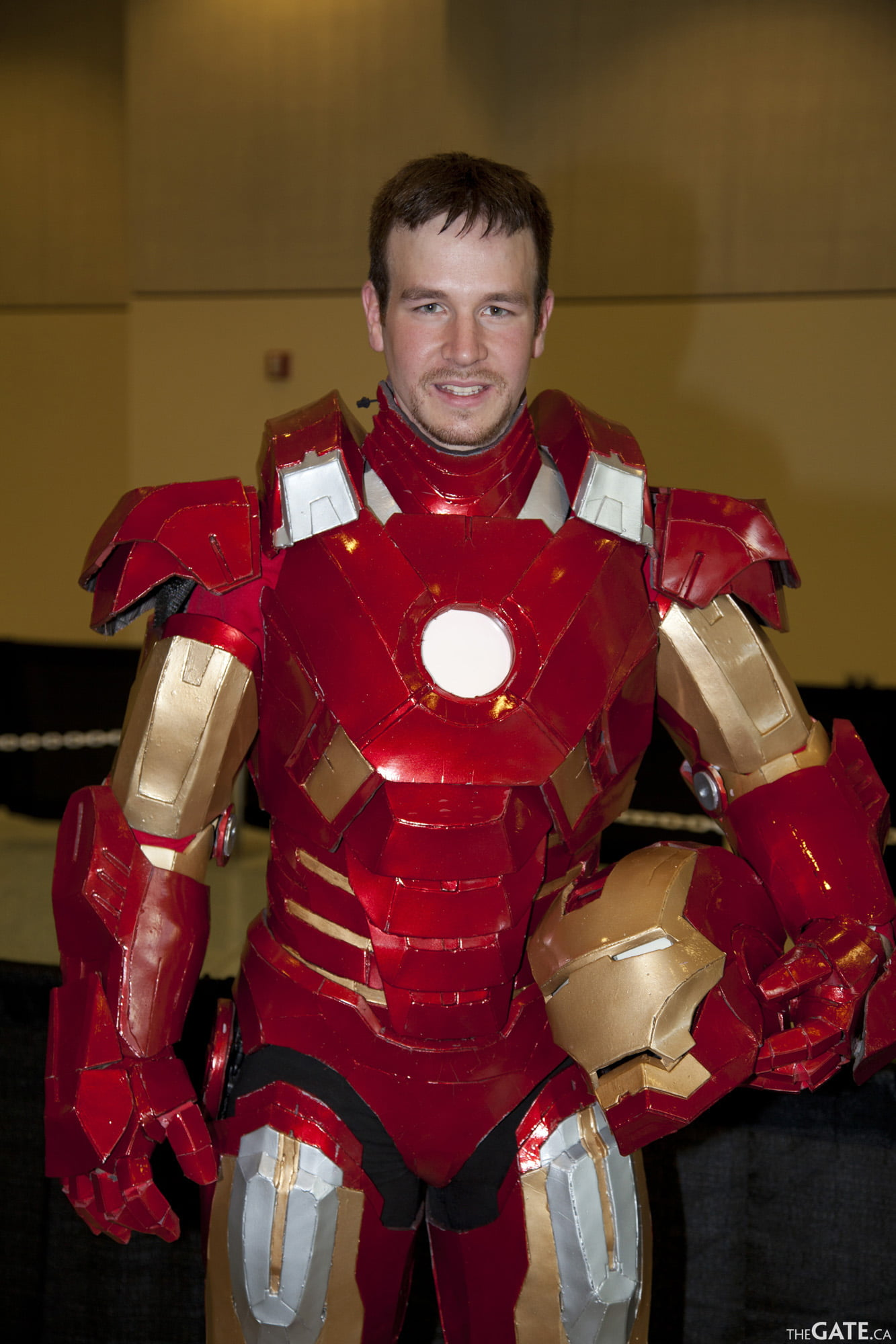 Owen as Iron Man