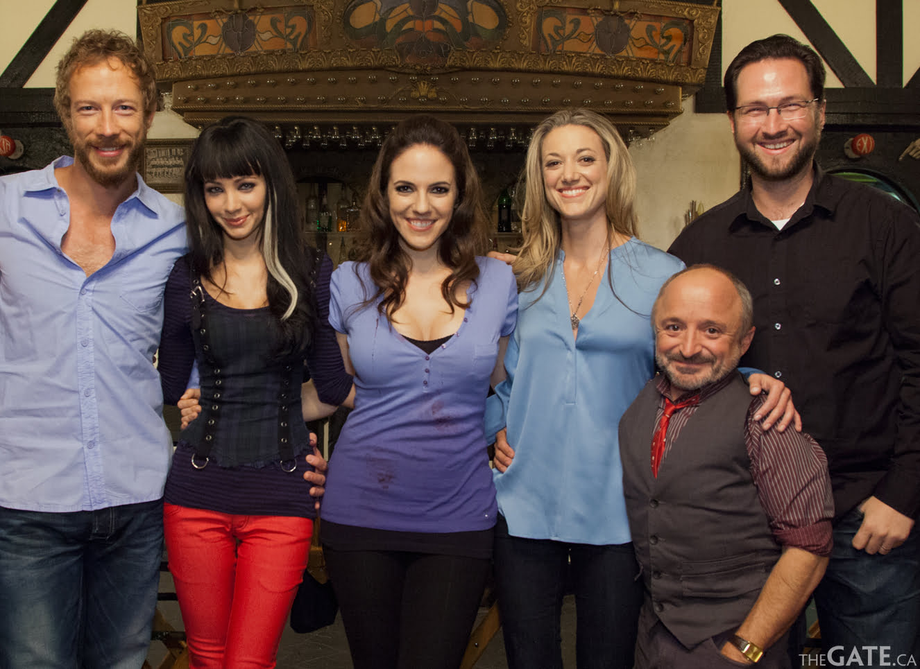 Visiting with the cast of Lost Girl season three