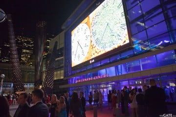 Opening night party at Maple Leaf Square