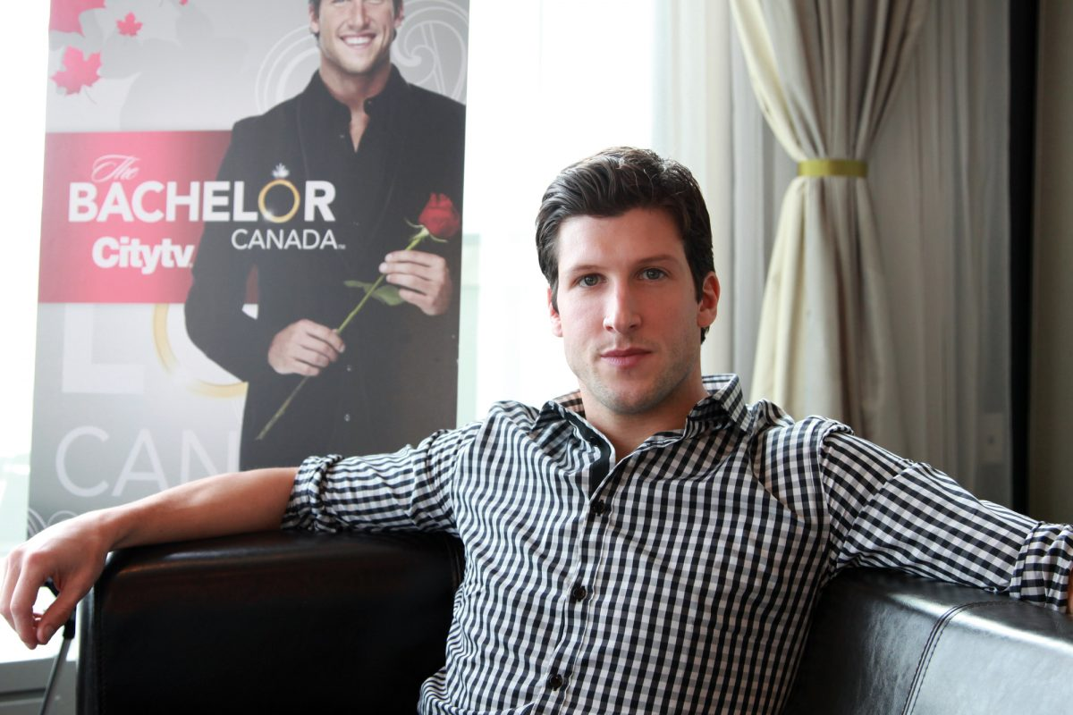Brad Smith from The Bachelor Canada