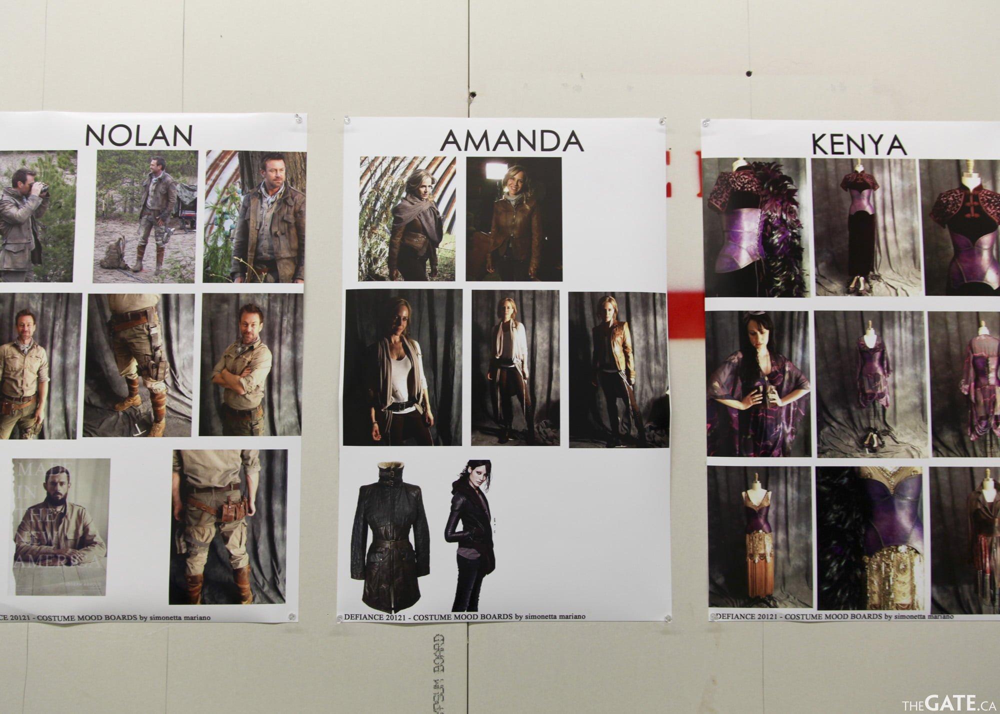 Costume test images - Nolan, Amanda, Kenya