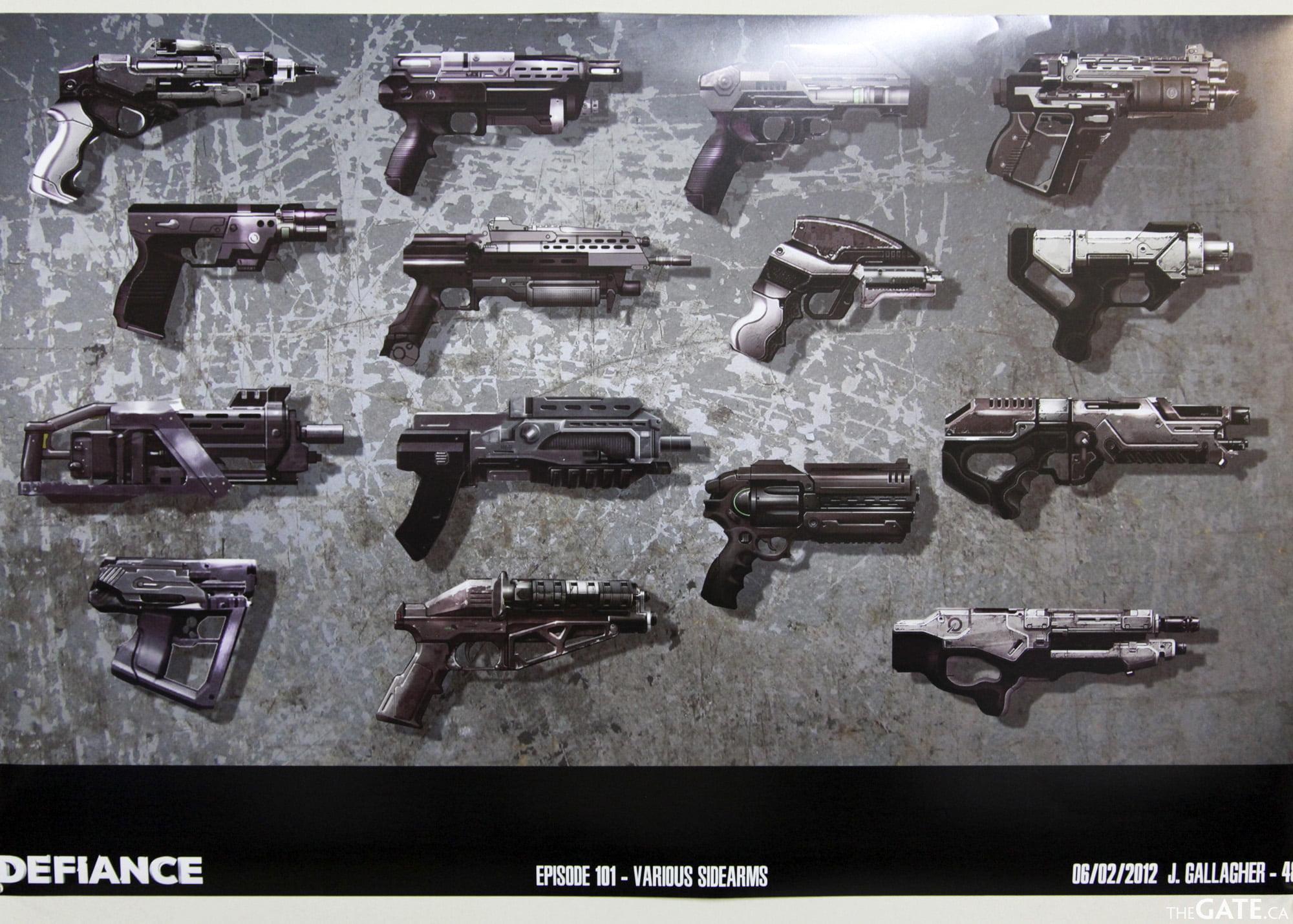 Defiance hand guns