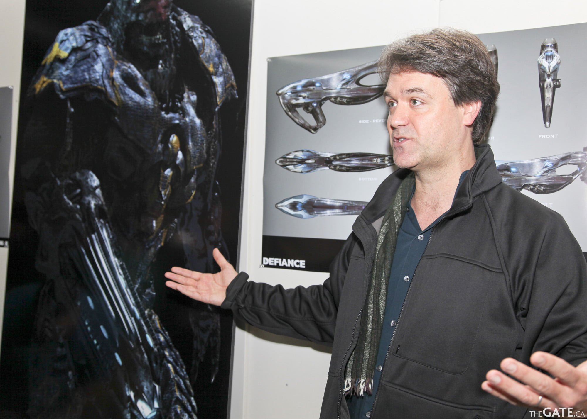 Defiance executive producer Kevin Murphy