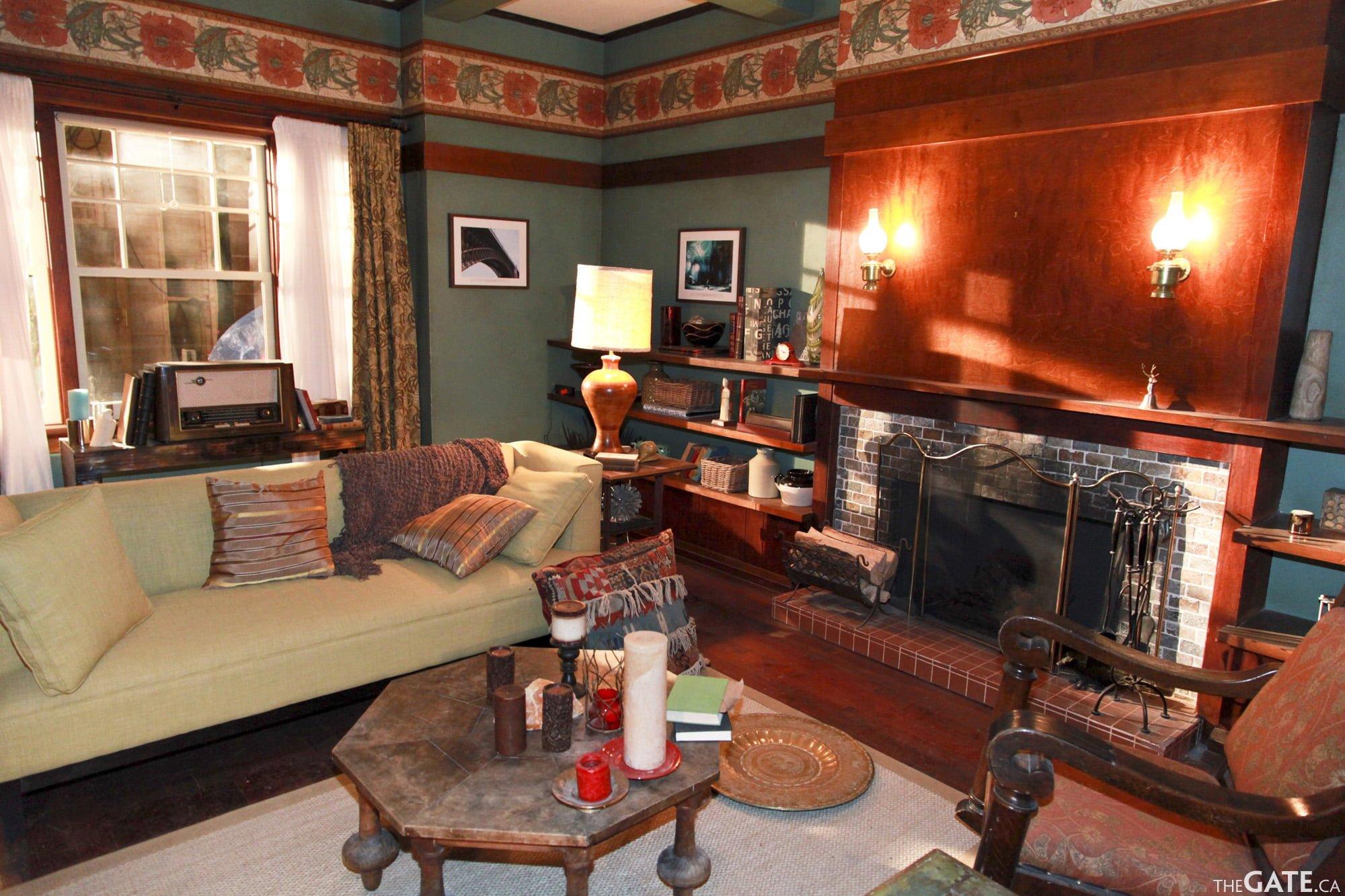 Rafe McCawley's retro living room