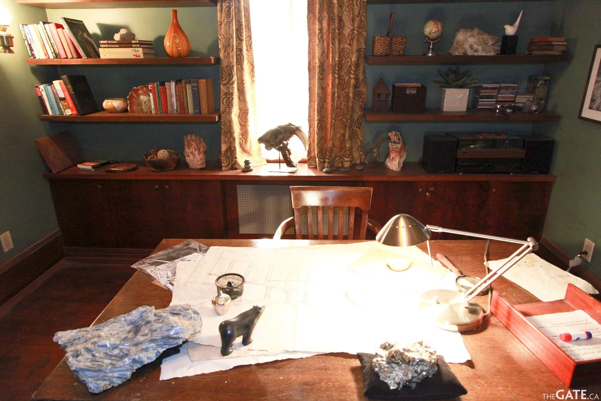 Rafe McCawley's study