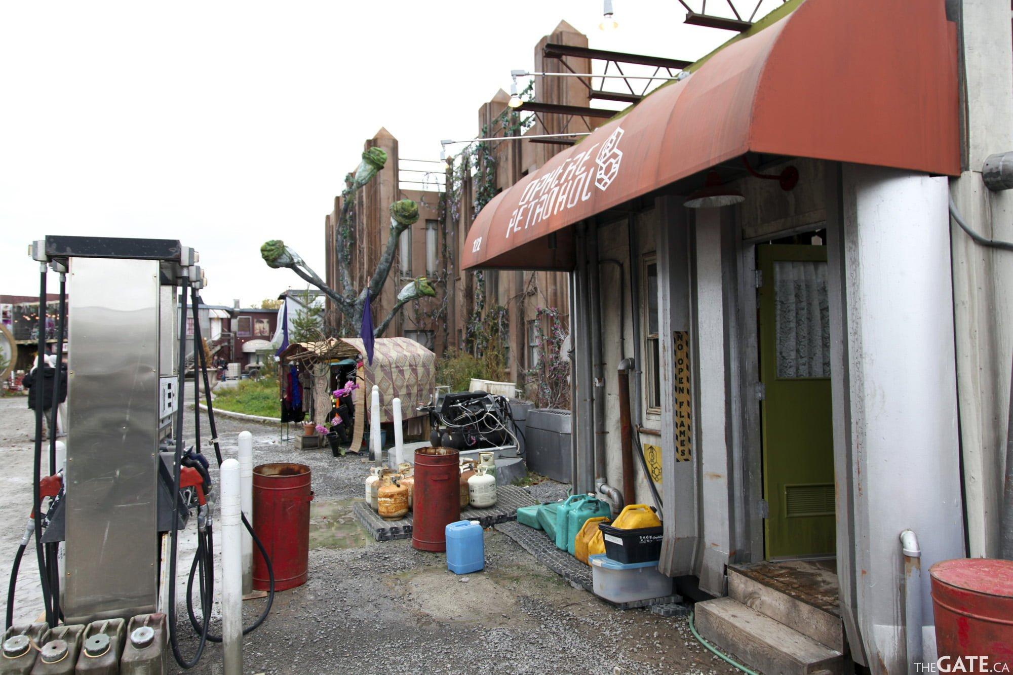 Defiance fuel station