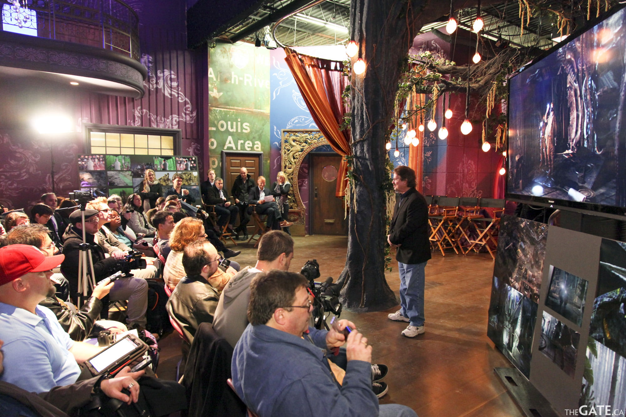 SyFy Digital Press learn about Defiance visual effects
